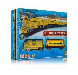 Tren galben cu sina