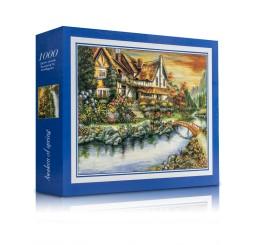 Puzzle Casuta cod 1- 1000 piese