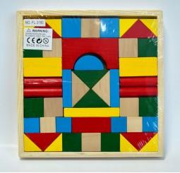 Cuburi de lemn-Pachet mic